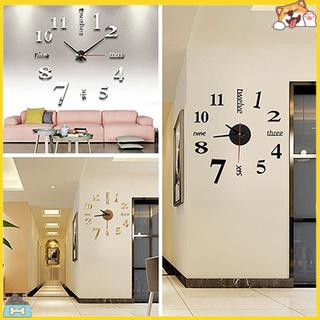 Đồng hồ dán tường DIY thời trang