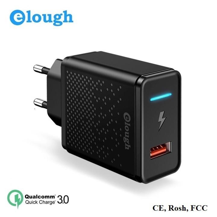 Sạc Cốc Nhanh Quick Charge QC 3.0 Elough CL01 Công Suất 18W
