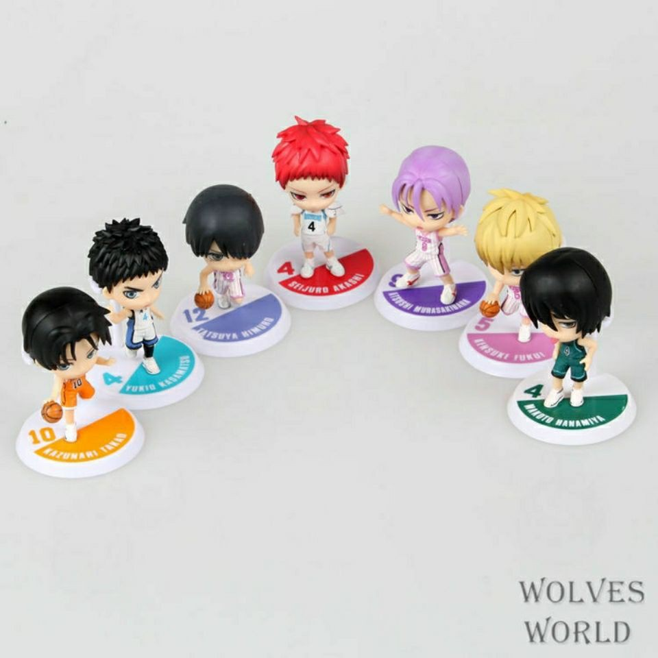 Decorations can be wholesale Kuroko's basketball figure Kuroko Tetsuya Vulcan Oi Kise Ryota Shintaro Daiki doll gift decoration
