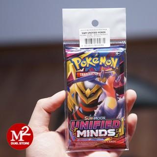 01 Túi thẻ bài SUN & MOON Unified Minds TCG – Hàng chính hãng Nintendo USA
