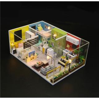 Mô hình nhà búp bê gỗ DIY – Simple Life – Cuộc sống giản đơn trong căn chung cư lạ kì