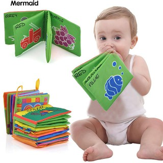 Intelligence Development Cloth Cognize Book Educational Toy for Kids Baby