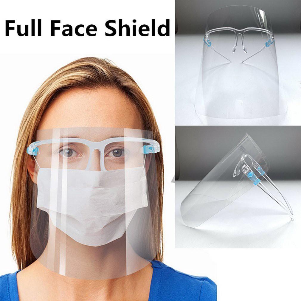 Kính Chống Giọt Bắn/Face Shields Bắn Bảo Hộ Dịch/Kính chắn dịch, bụi, nắng, đi được với xe máy