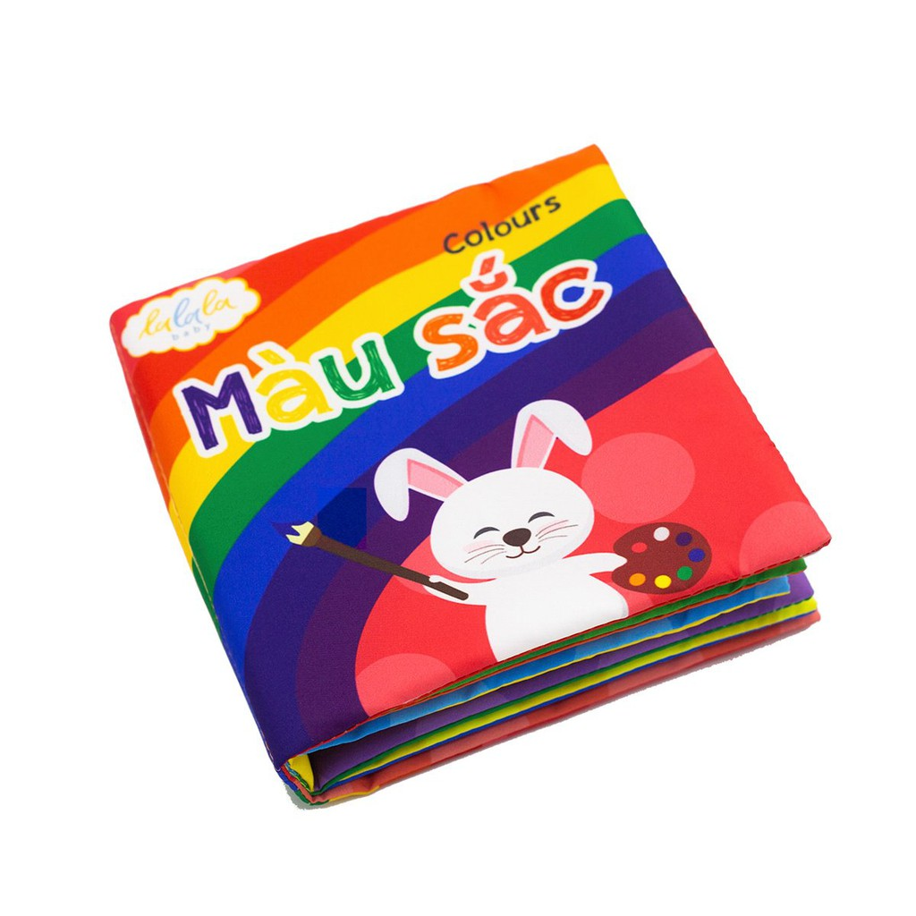 [Mã TOY0909 giảm 15% đơn 99K] Bộ sách vải cho bé Lalala Baby - Kích thích đa giác quan -...