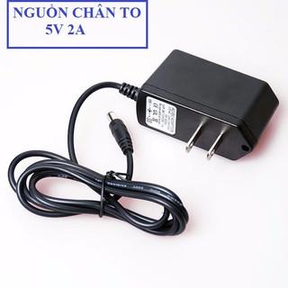 [Mã ELORDER5 giảm 10k đơn 20k] Nguồn Adapter 5V-2A Chân To - nguồn adapter loại tốt