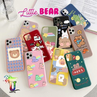 Ốp Điện Thoại Mềm Hình Gấu Nhỏ Cho Xiaomi Redmi Note 3 4 4x 5a 5 6 7 8 9 10 Pro Mi 8 8se Cc9 Cc9E Uc4357