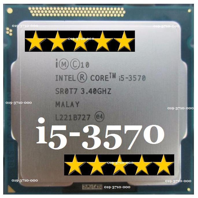 CPU Intel Core i5 3570 ( core i5 - 3570s) (Up to 3.8Ghz/ 6Mb cache)Bảo hành 01 Tchơi tất cả các loại game