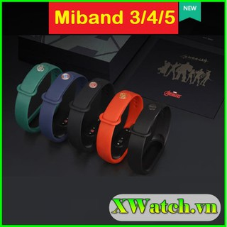 Dây đeo Xiaomi Mi Band 3 4 , Mi Band 5 Avenger (Mi Band 3 4 5 Avengers) thumbnail