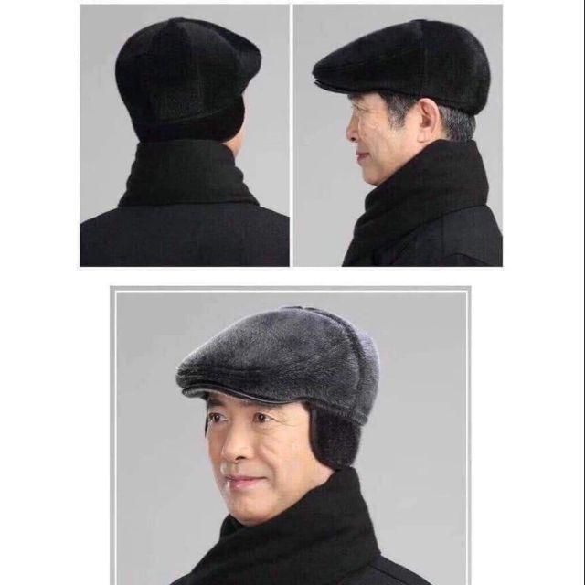 Mũ lông ông già chất chuẩn