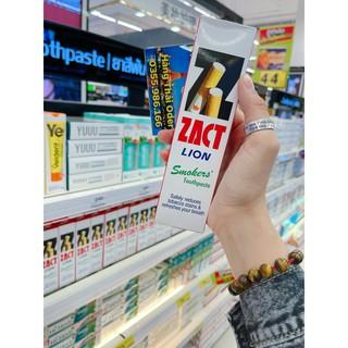 KEM ĐÁNH RĂNG DÀNH CHO NGƯỜI HÚT THUỐC ZACT LION SMOKERS TOOTHPASTE 160G THÁI LAN