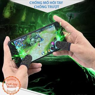 Set 2 găng tay cảm ứng chơi game điện thoại chống mồ hôi chống trượt thumbnail