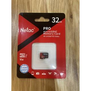 Thẻ nhớ Netac 32GB - Chính hãng