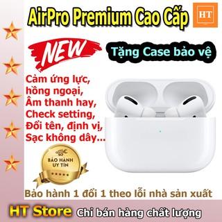 [Rẻ vô địch] Siêu Phẩm Tai Nghe Bluetooth TWS AirPro Premium Cao Cấp - Check Setting - Đổi Tên - Định Vị