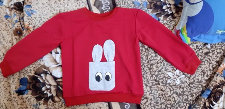 Đánh giá sản phẩm  Mẫu áo nỉ cho bé trai, bé gái họa tiết tai thỏ đáng yêu, chất da cá mềm mịn, áo diện tết tặng bé - KIDMODE của mai0969978131