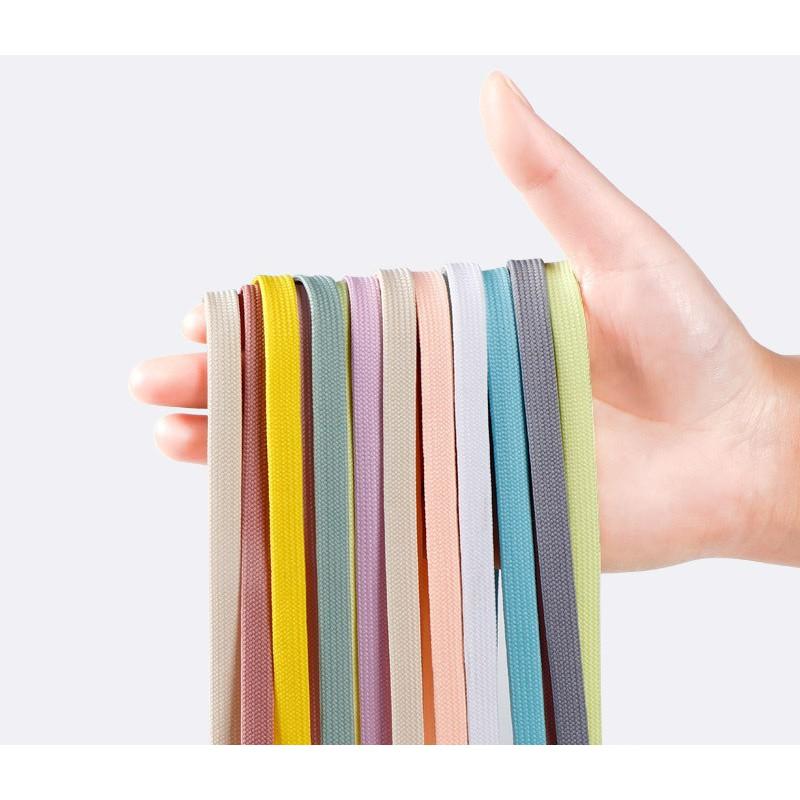Bảng 1 - 140cm Dây Giày Thể Thao Bản Dẹp Chất Polyester - Vani Store