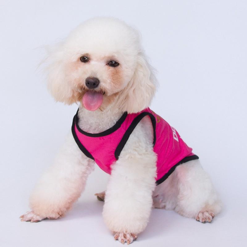 Áo Vest Cotton in họa tiết vương miện công chúa cho thú cưng