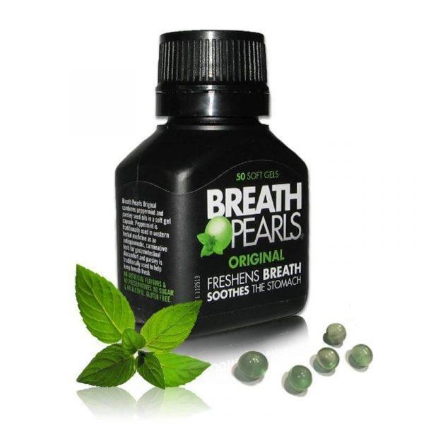 KẸO NGẬM BẠC HÀ BREATH PEARLS (50 VIÊN)