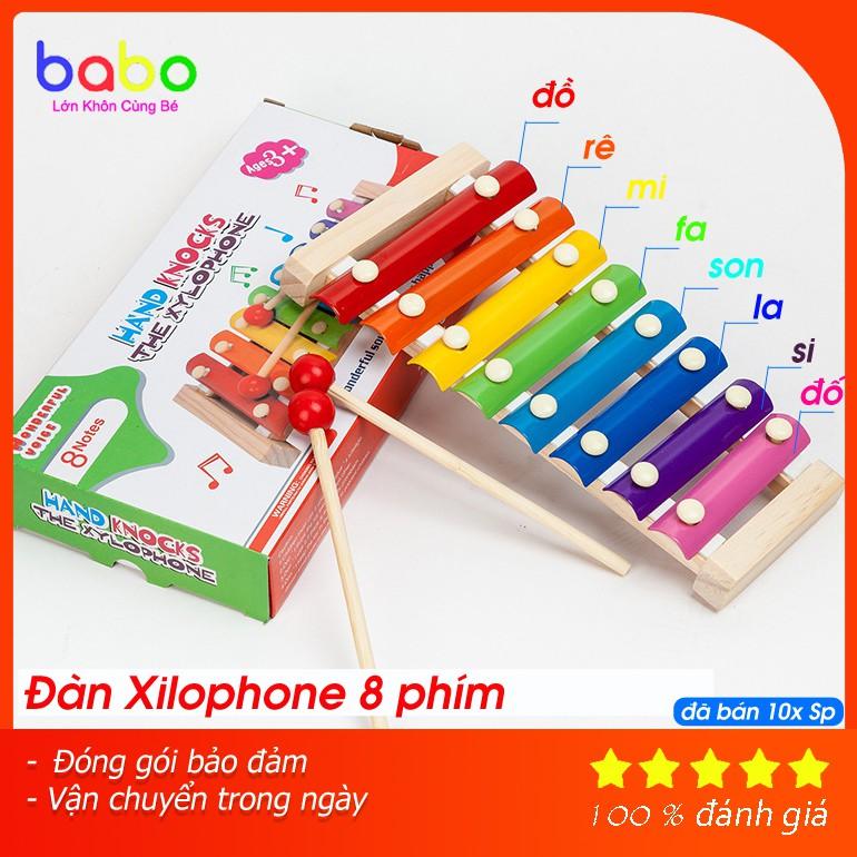 Đàn Gõ Xylophone 8 Thanh Cho Bé – TG67