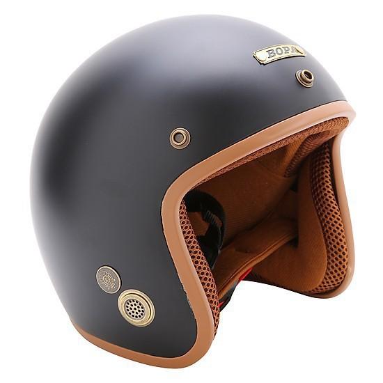 Nón Bảo Hiểm 3/4 BOPA Cao Cấp Lót Màu- Mũ bảo hiểm