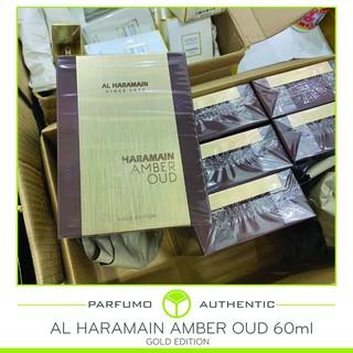 [ Cam Kết Chính Hãng ] Nước hoa Al Haramain Amber Oud 60ml full seal Gold Edition