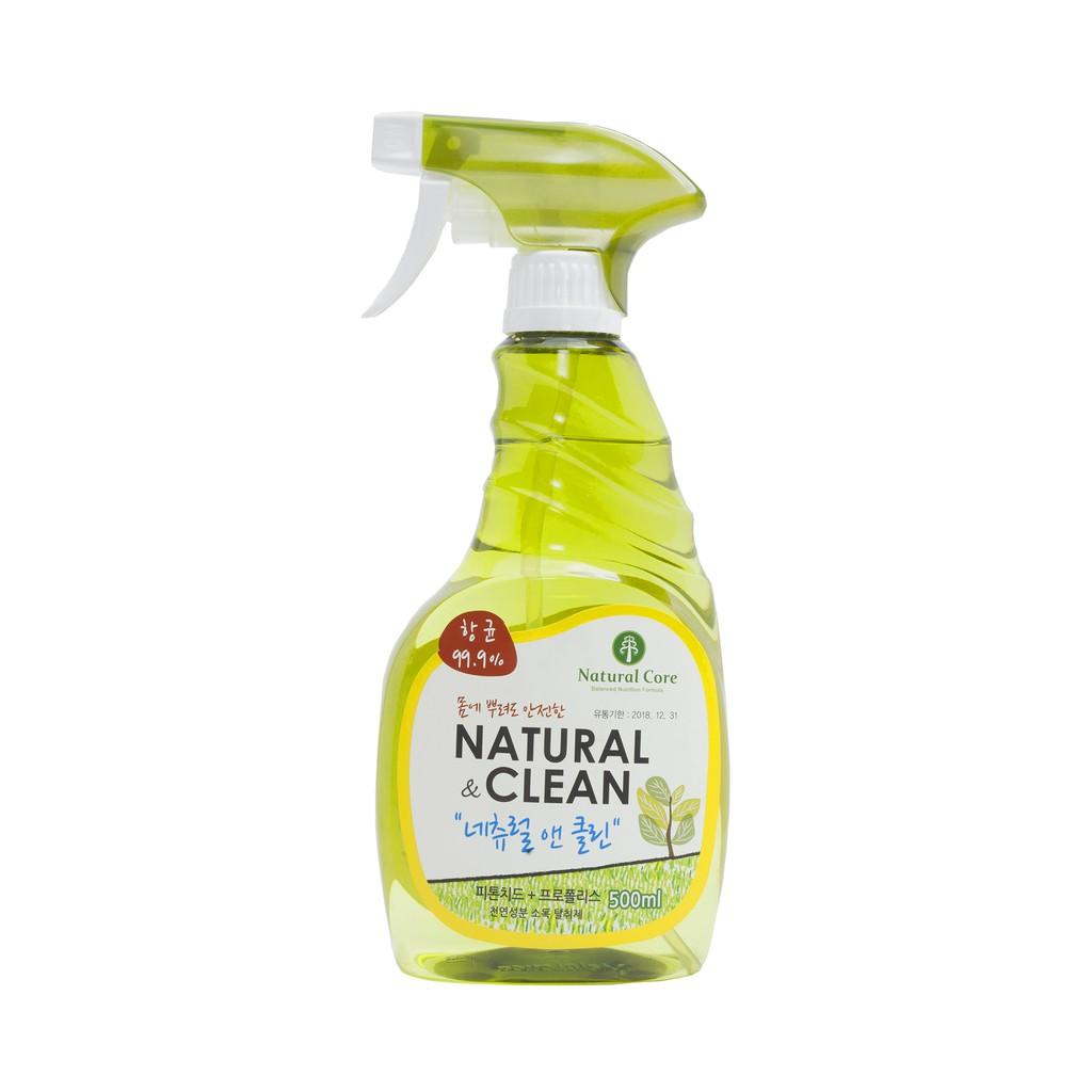 Xịt khử mùi diệt khuẩn Naturalclean