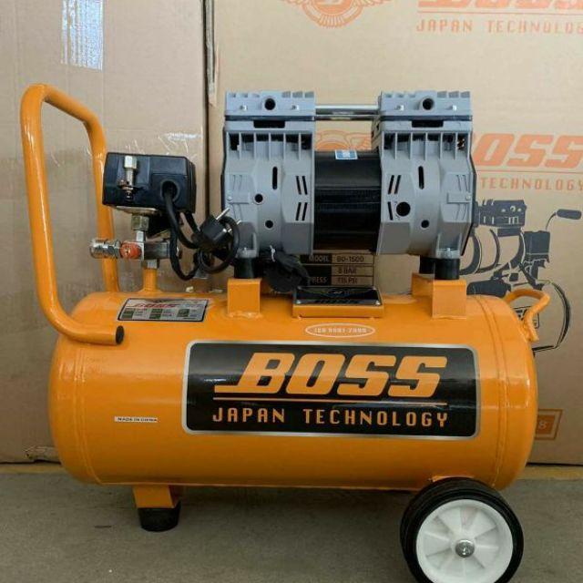 máy nén khí không dầu BOSS 2hp cực êm và nạp hơi cực nhanh