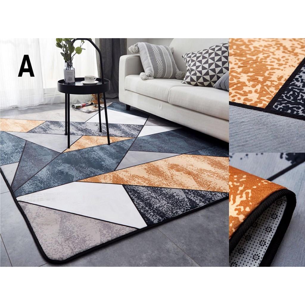 thảm chùi chân hình vuông