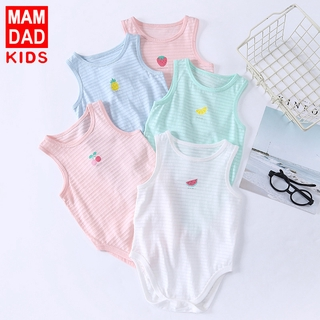 Summer baby jumpsuit cotton baby cartoon romper romper jumpsuit baby romper summer