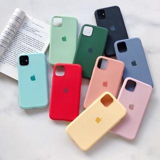 [ ỐP CHỐNG BẨN] – Ốp iphone 11 / 11 pro / 11 pro max chống bẩn logo táo cực sang