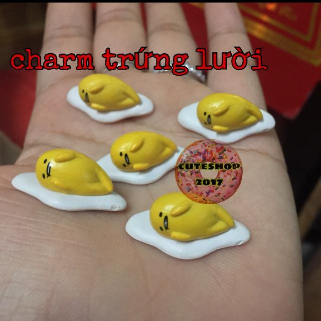 charm trứng lười