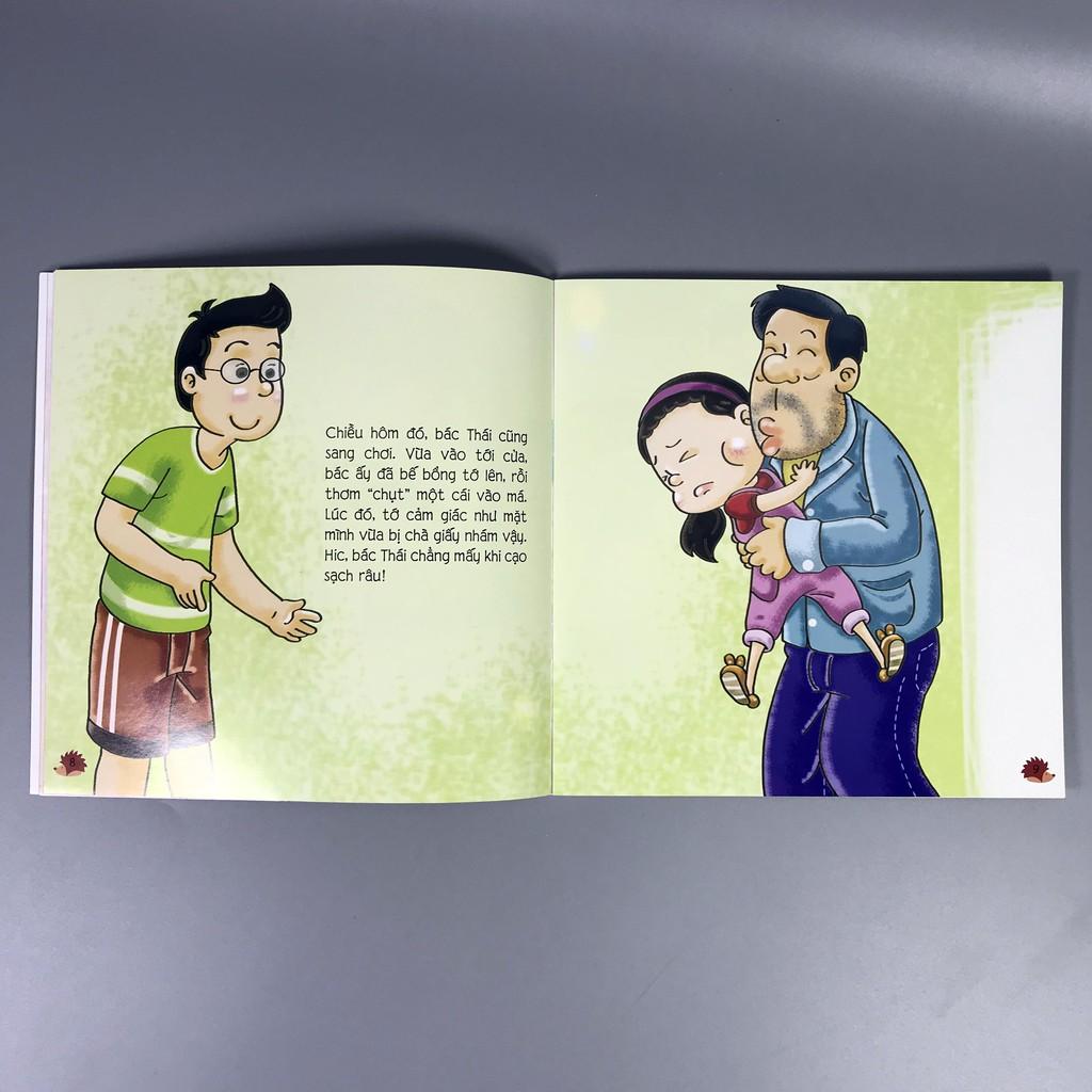 Sách - Tự Bảo Vệ Mình - Đừng Tùy Tiện Thơm Cháu
