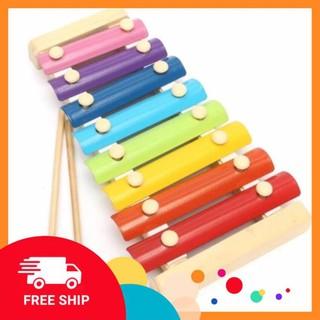 Đàn gỗ 8 quãng - Đồ chơi âm nhạc cho bé