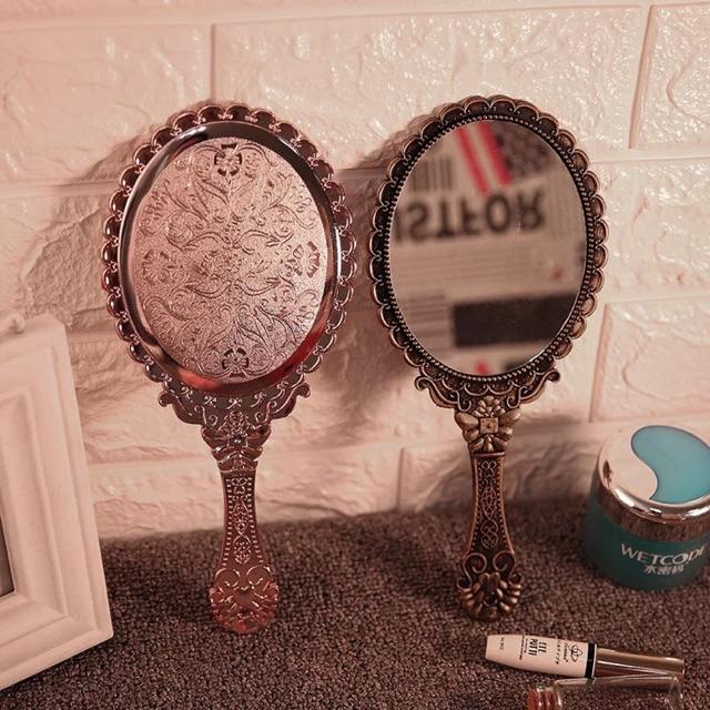 Gương soi cẩm tay gương hoàng cung
