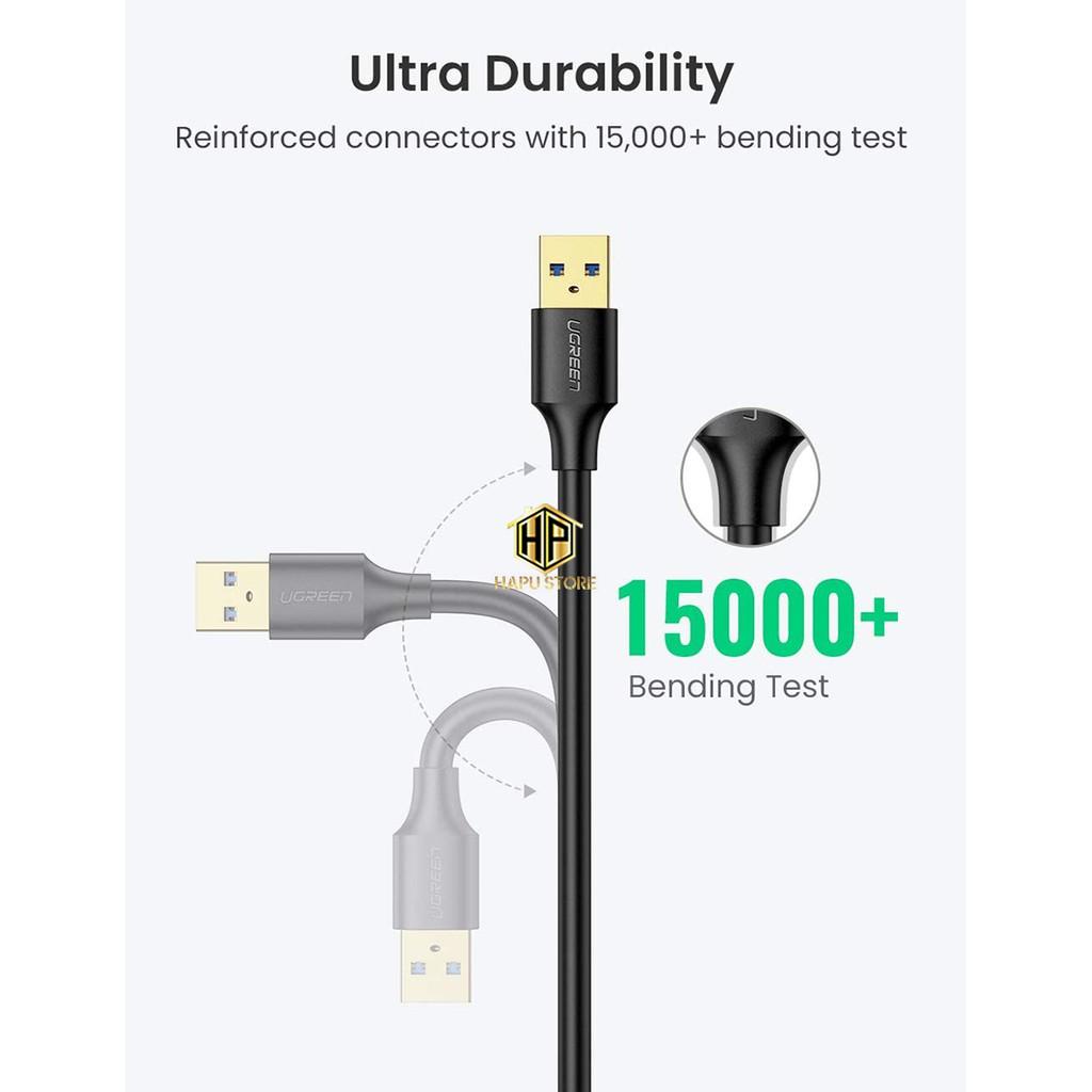 Cáp nối dài USB 3.0 âm dương Ugreen 10368 dài 1m chính hãng - Hapustore