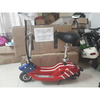 xe điện mini e-scooter cờ mỹ