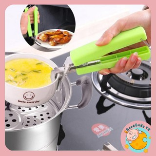 [Mã SKAMPUSH10 giảm 10% đơn 200K] Kìm,kẹp gắp nồi,chảo,đĩa chống nóng nhà bếp Goodbabyvn
