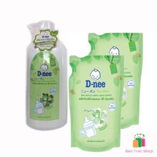 Combo 1 chai 2 túi nước rửa bình sữa Dnee Organic – Hàng chính hãng