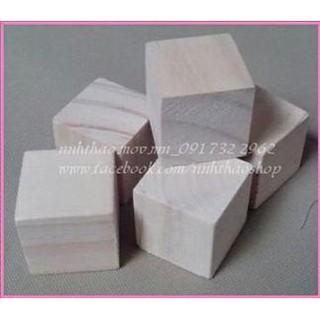 [Nhập TOYMAR giảm 10%] Gỗ khối vuông 2,3,4,5 cm