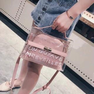 Túi xách nhựa trong Hot 2018 - TXN25