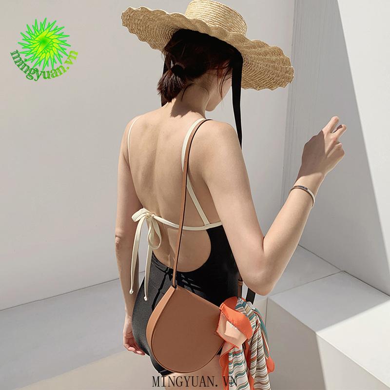 Mặc gì đẹp: Đằm thắm với Áo tắm nữ một mảnh hở eo gợi cảm hàn quốc