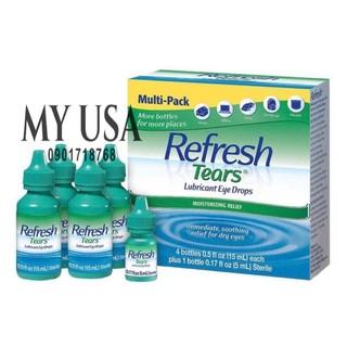 Nước Mắt Nhân Tạo ❤Nước Nhỏ Mắt Nhân Tạo Refresh Tear – Mỹ