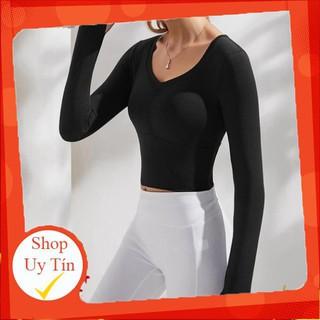 [HÀNG NEW] – Áo bra nữ cao cấp dài tay, không nhăn dành cho chạy bộ, Gym, Yoga… vô cùng thời thượng – SPORT SHOP