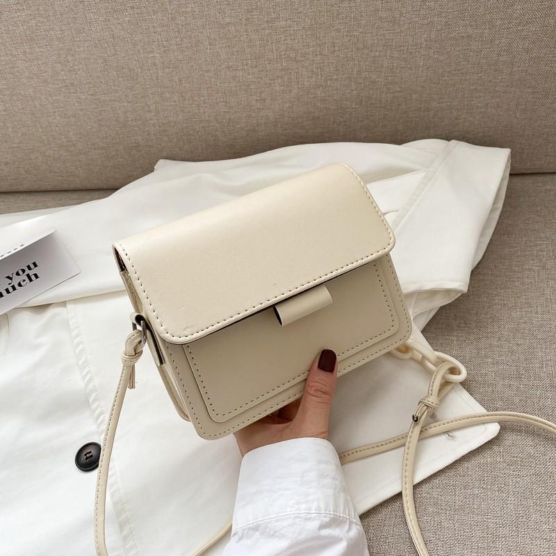 Túi xách nữ  𝑭𝑹𝑬𝑬𝑺𝑯𝑰𝑷  Túi dây pha xích phong cách Hàn Quốc cá tính TD12