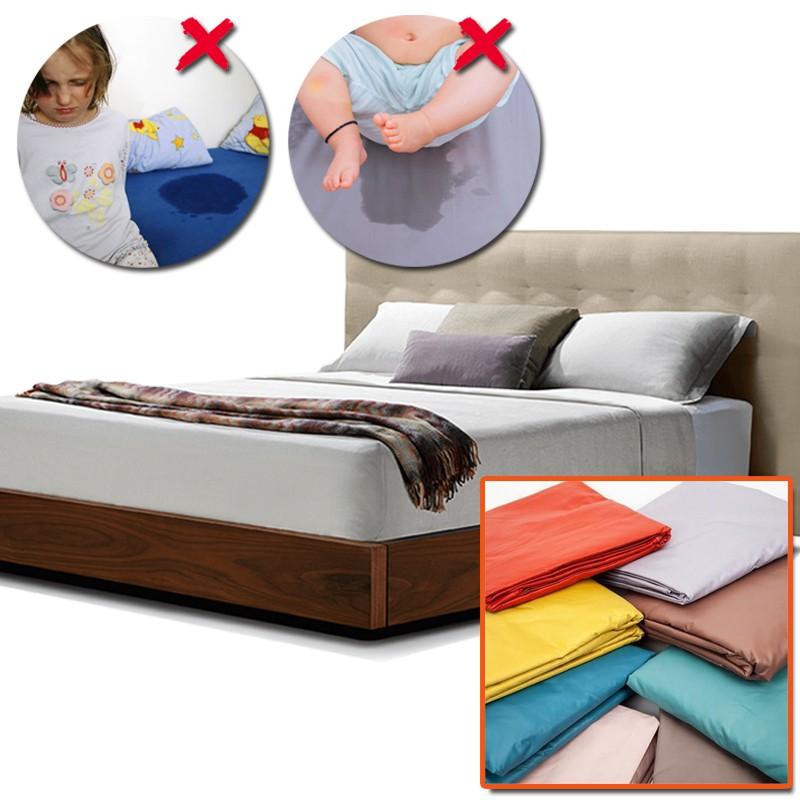 Drap giường chống thấm 1m6 | 1m8 - Giao màu ngẫu nhiên | Shopee Việt Nam
