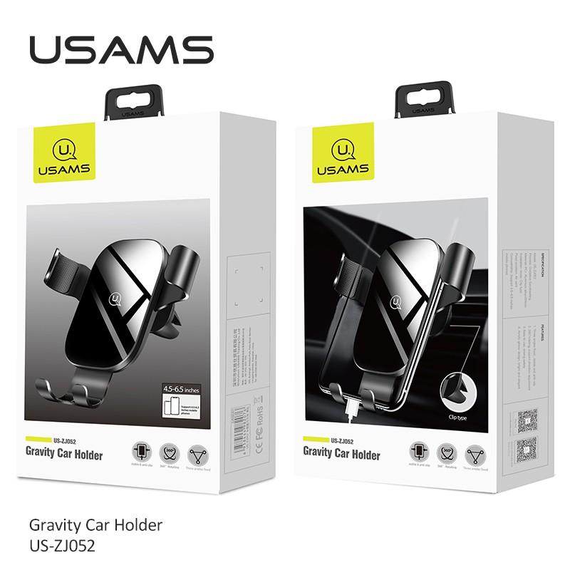 Giá Giá Đỡ Điện Thoại USAMS Us-Zj052 Gắn Xe Ô Tô Cho IPHONE SAMSUNG OPPO HUAWEI VIVO XIAOMI