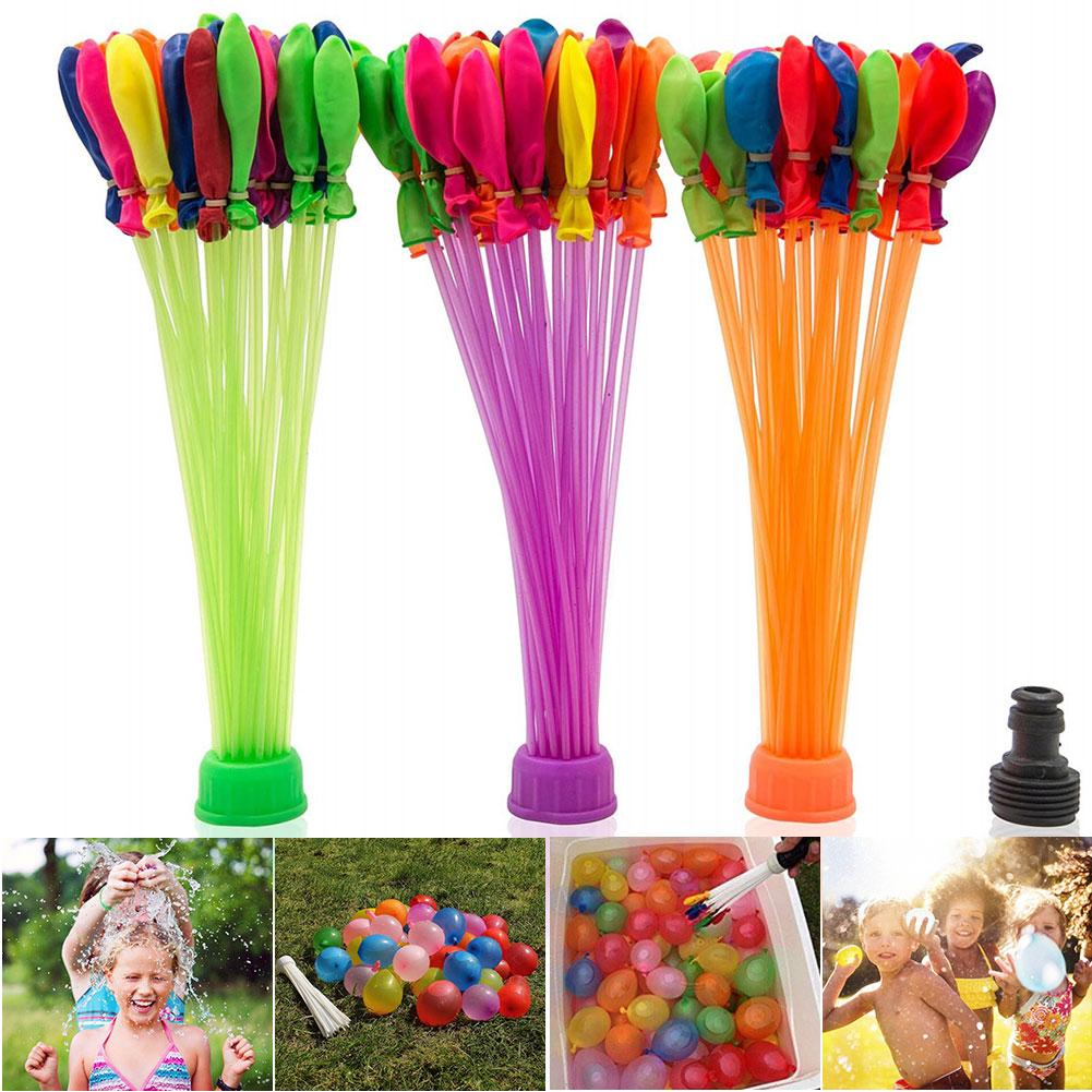 3 Bundle/pack Funny Summer Magic Beach Outdoor Party Kids Self-sealing Water Balloons