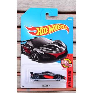 Xe mô hình tỉ lệ 1:64 Hot Wheels McLaren P1 363/365 ( màu đỏ đen )