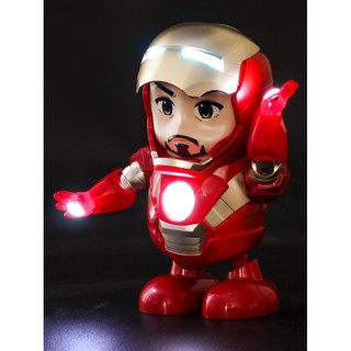 Giầy Tốt [ SIÊU HOT ] FREESHIP Đồ Chơi RoBot Iron Man – Người Sắt Nhảy múa Bảo Hành 2 Năm