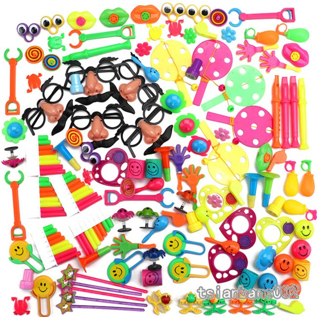 【In stock】 120Pcs Party Favors Toy Assortment for Birthday Pinata Fillers Carnival Prizes Classroom Rewards Christmas Gift