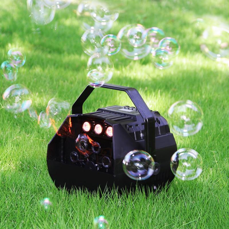 máy tạo bong bóng mini
